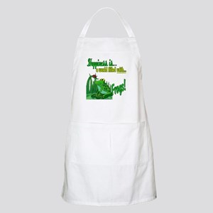 Happiness is a Frog BBQ Apron